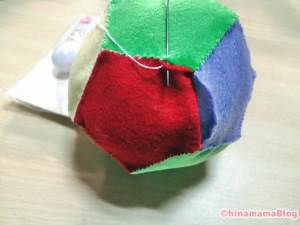 【ハンドメイド】フェルトを縫い閉じる